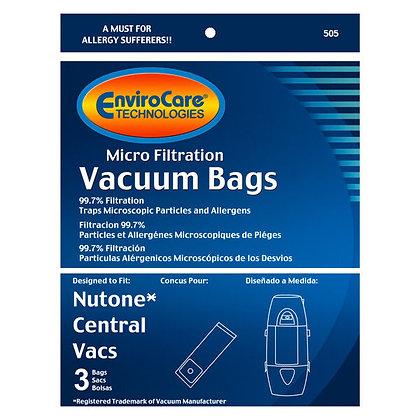 Nutone Central Vacuum Bags 3PK