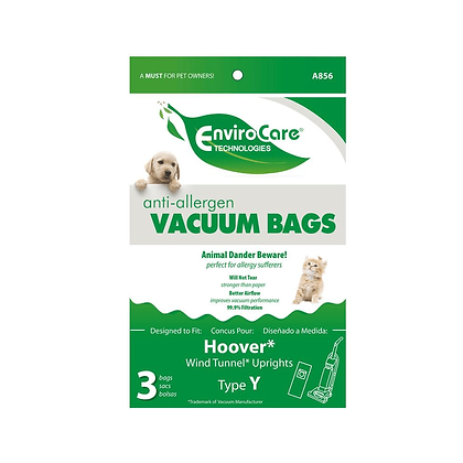 Hoover Y Cloth bags 3pk