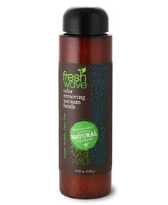 Fresh wave odor removing beads