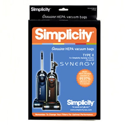 Simplicity Type X Upright 6-Bags
