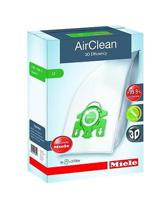 Miele AirClean 3D Efficiency U 4 Bags + 2 Filters