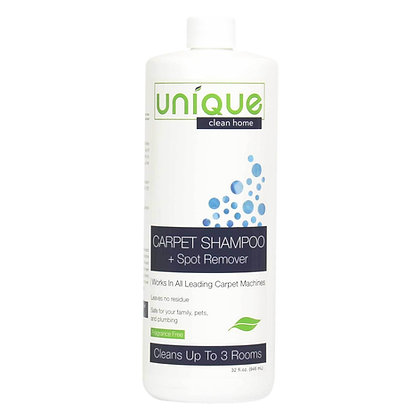 Unique Carpet Shampoo + Spot Remover
