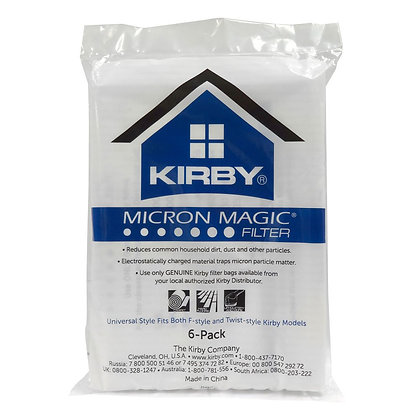 Kirby Micron Magic Filter Bags 6-Pack