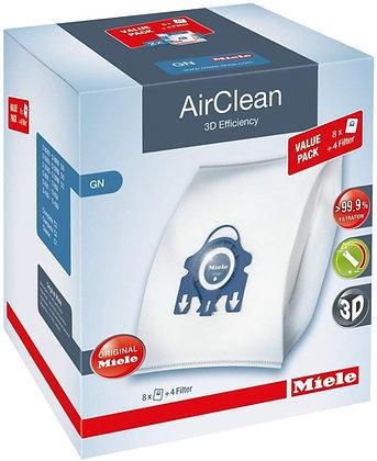 Miele GN AirClean 3D Efficiency XL Bags 8pk