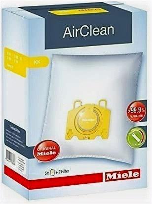 Dustbag KK AirClean 3D Efficiency Bags 5pk + 2 Filters