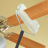Lambswool ceiling fan duster