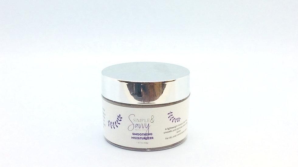 Smoothing moisturizer