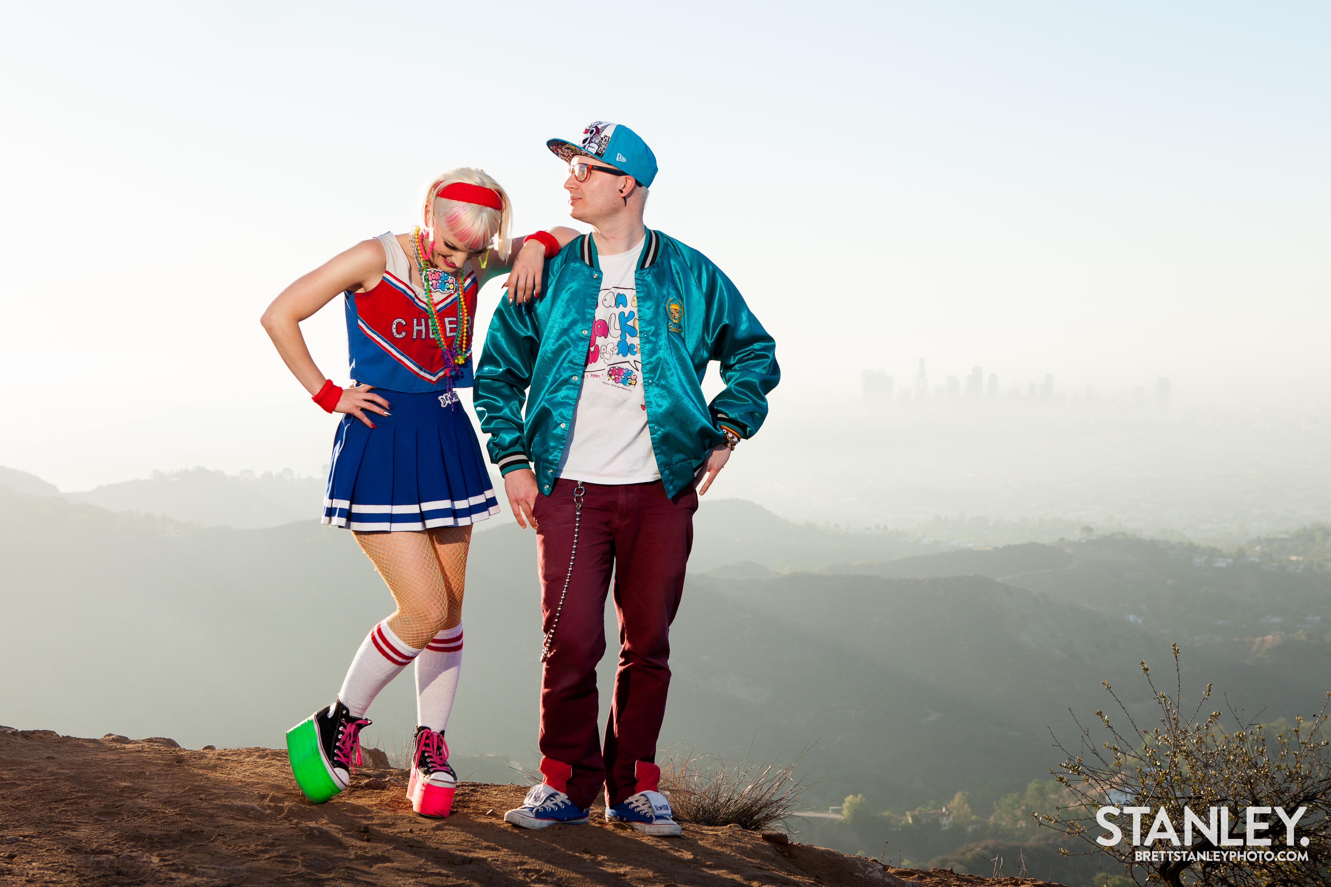 L.A. Love Video Shoot