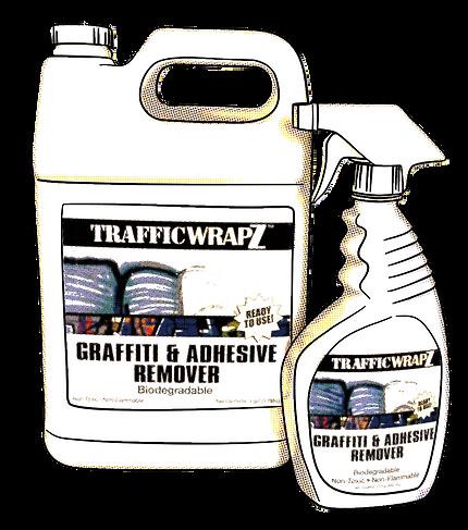 TW Soy Graffiti & Adhesive Remover Comic