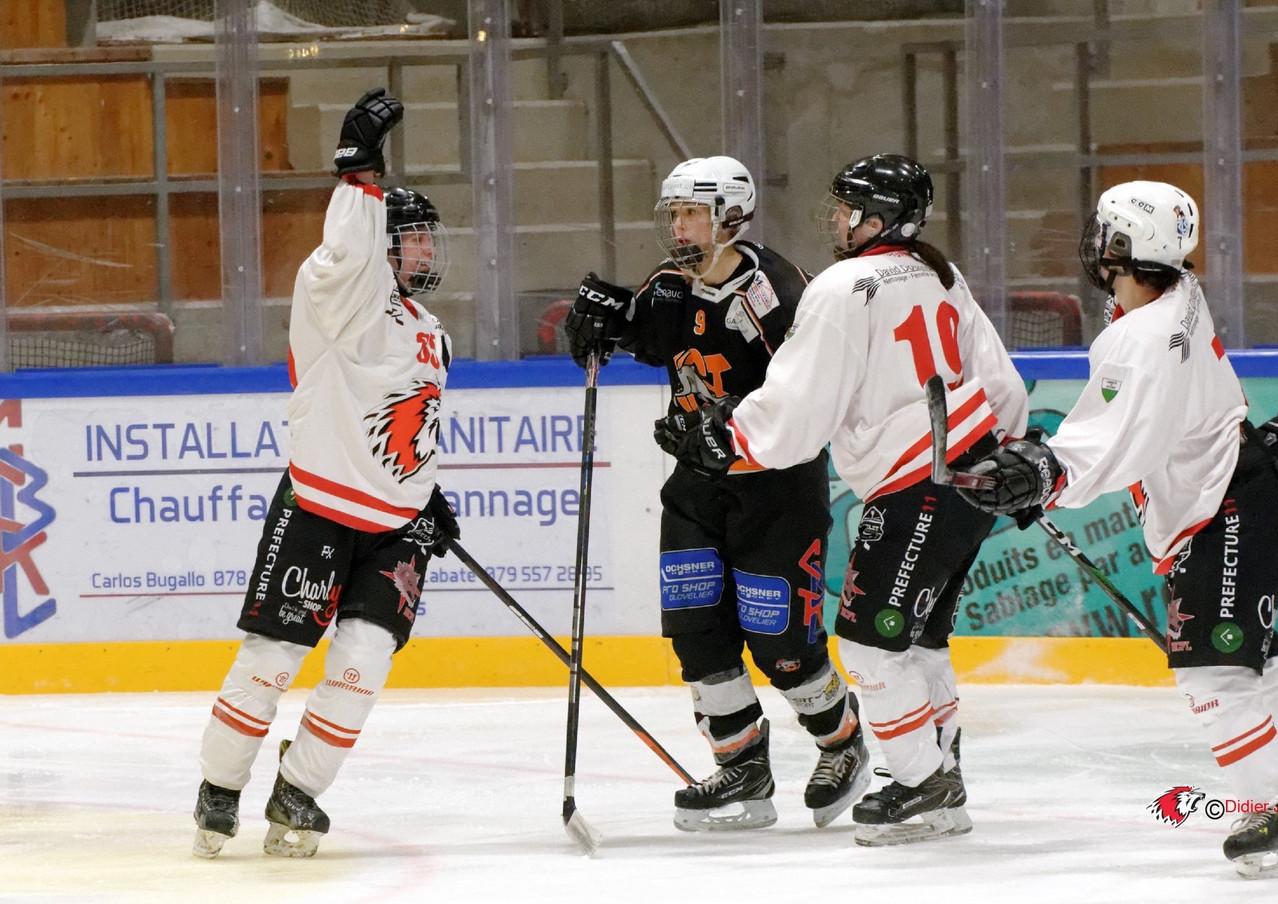 Playoffs / Tramelan - LHCF