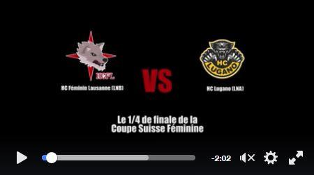 Trailer 1/4 de finale de la Coupe Suisse face à Lugano