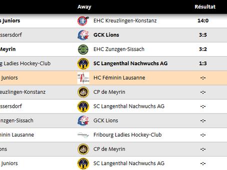 Reprise du championnat pour la LNB et match de qualification de coupe Suisse pour la LNC