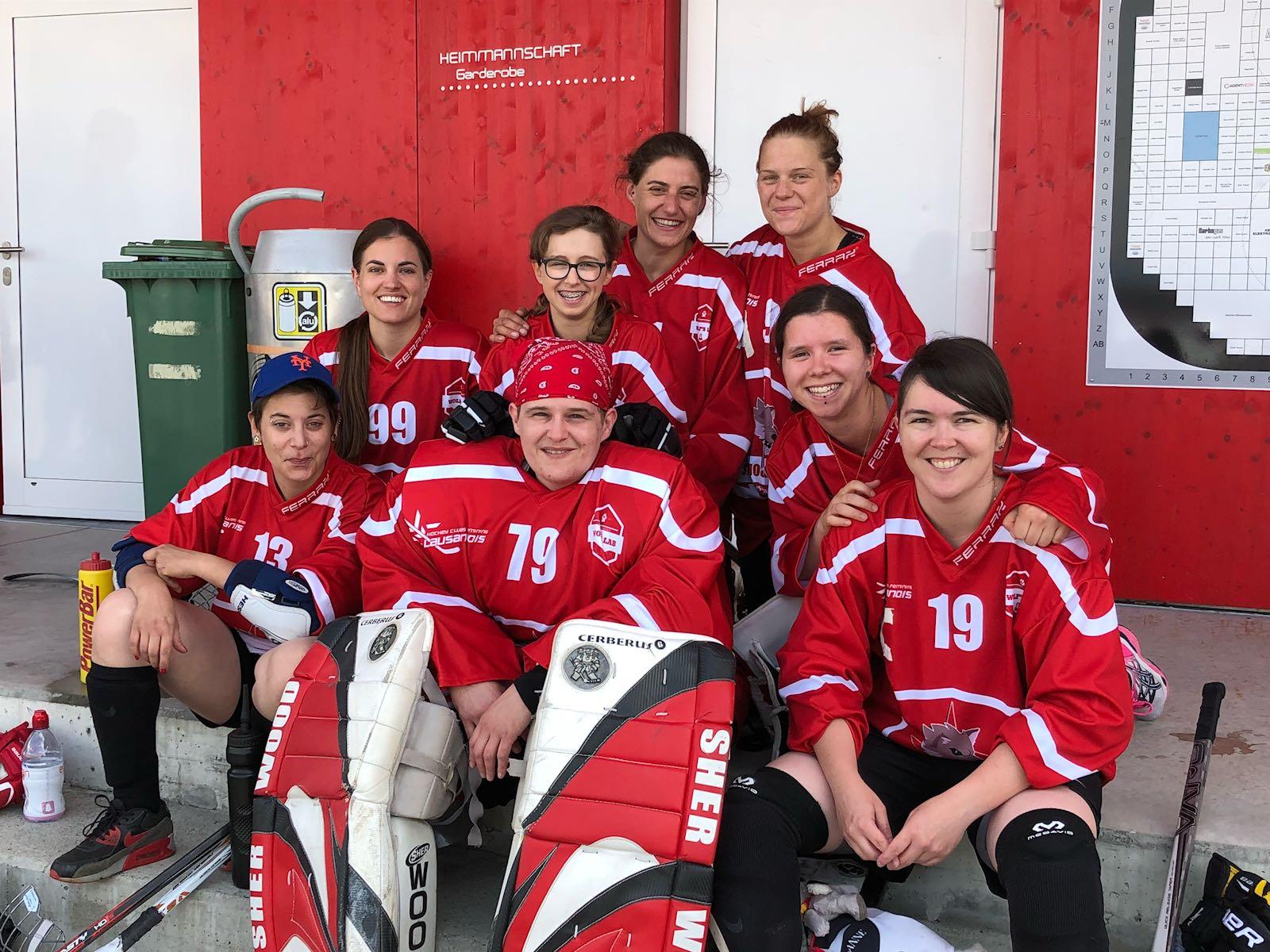 1er tournoi de street hockey
