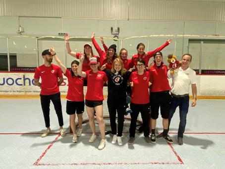 3ème place au championnat suisse de Inline hockey