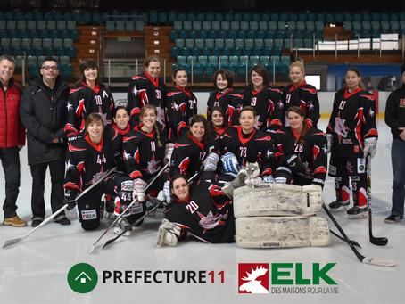 HC Féminin Lausanne - HC Sierre : 7-1