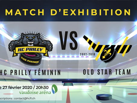 Match Exhibition HC Prilly Féminin VS Old Star Team