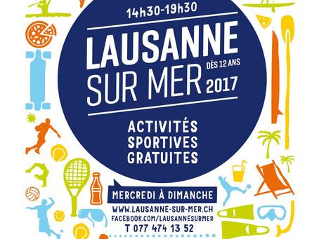 Le HCFL à Lausanne sur Mer le samedi 15 juillet 2017 à Vidy