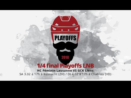 Playoffs LNB - 1/4 de finale
