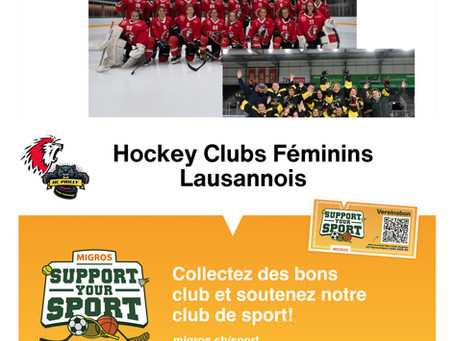 Action Support your Sport de Migros