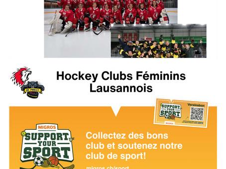Action Support your Sport de Migros