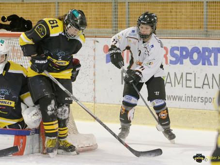 Résultats HC Prilly VS Neuchâtel Hockey Academy et Tramelan