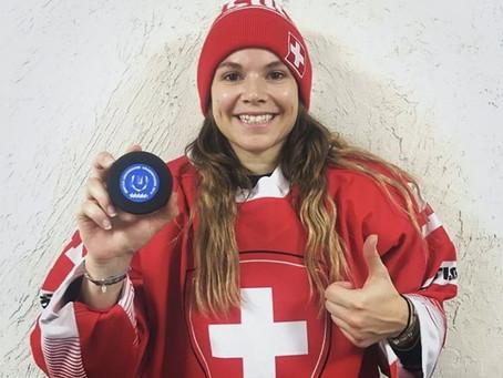 Premier but historique Suisse inscrit par une Lausannoise !