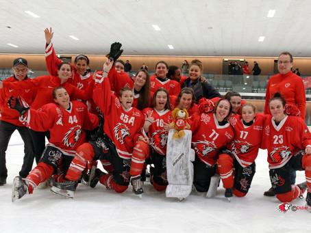 Le Lausanne HC Féminin se qualifie pour les Playoffs !