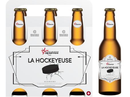 Pré-commande de packs de bière, spécialement créée pour le souper de soutien