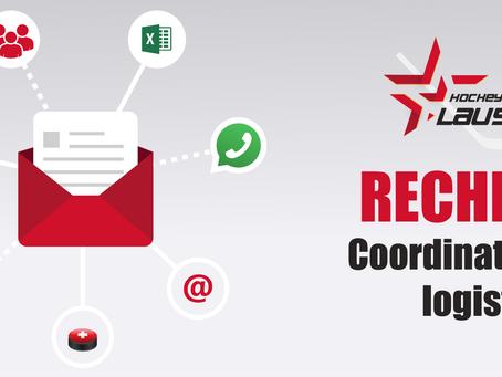 POSTE POURVU / Recherche d'un coordinateur(trice) logistique
