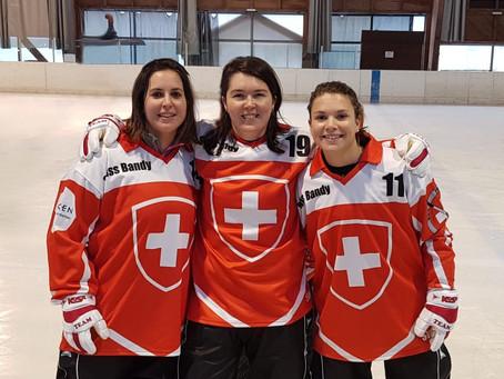 Trois joueuses de Lausanne aux championnats du Monde de Bandy Hockey