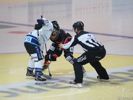 Lausanne bute lors du derby à la BCF Arena