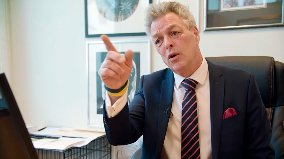 Erik Lea - attorney for Birgittes parents