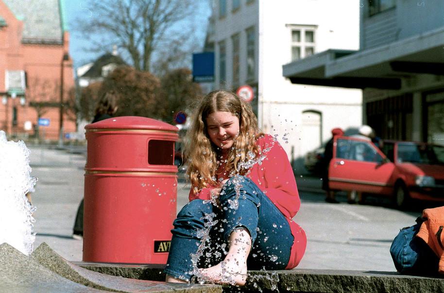 Birgitte one week before she was killed