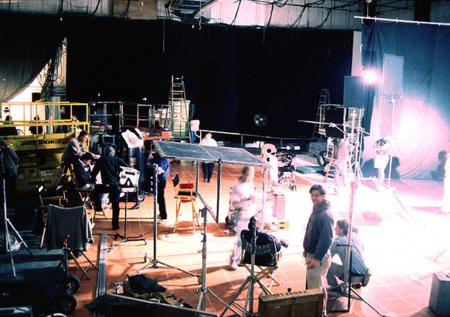 Working in Hollywood studios