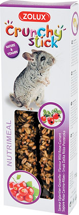Crunchy stick chinchilla églantier/groseille 115g