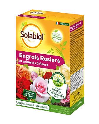 Engrais rosiers et arbustes à fleurs 1,5kg