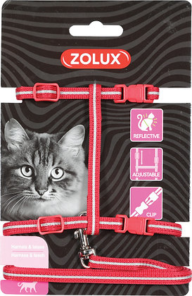 Kit de sellerie pour chat rouge