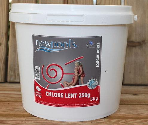 Chlore lent galets 5kg