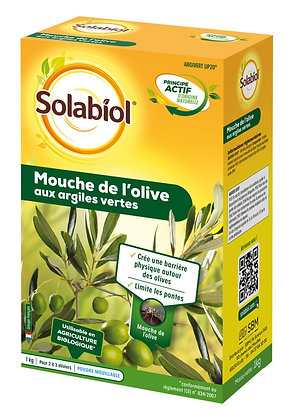 Mouche de l'olive aux argiles vertes 1kg