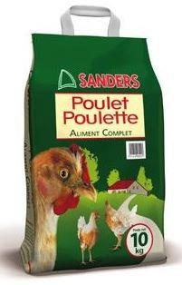 Poulet Poulette 10kg