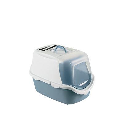 Maison toilette cathy easy clean bleu acier
