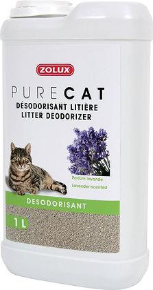 Désodorisant litiere Pure Cat parfum lavande