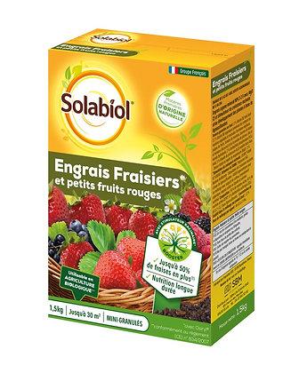 Engrais fraisiers et petits fruits rouges 1,5kg