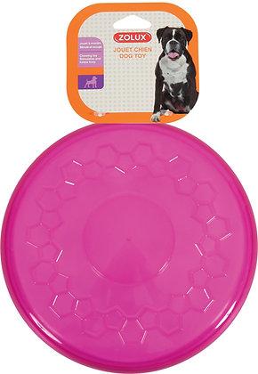 Jouet TPR Frisbee Pop 23cm Framboise