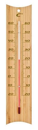 Thermomètre bois