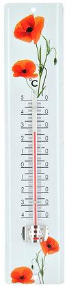 Thermomètre coquelicot