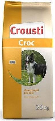 Crousti Croc 20kg +4kg gratuit