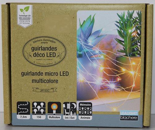 Guirlande micro led multicolor 7.5m
