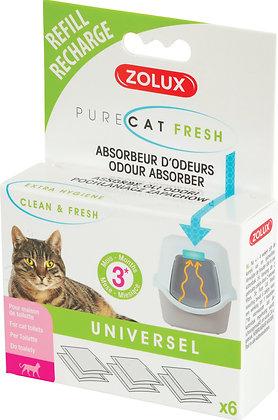 Recharge anti-odeurs Purecat Fresh