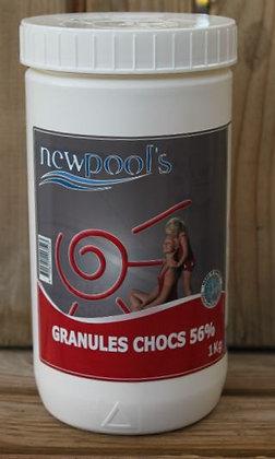 Chlore chocs granulés 1kg